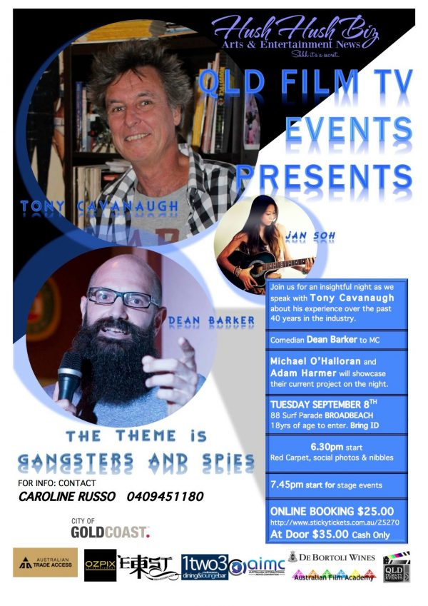 QUEENSLAND FILM TV NETWORK EVENT SEPTEMBER 2015