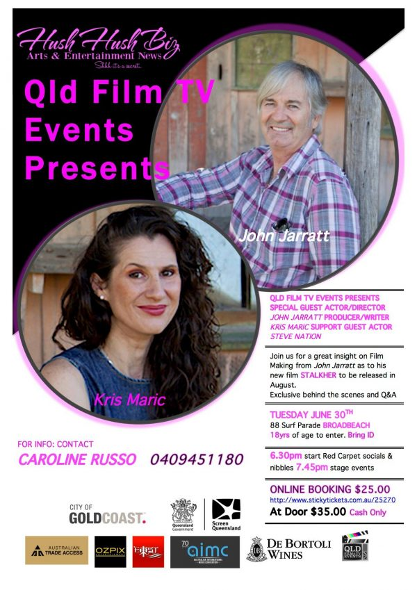 GOLD COAST FILM & TV NETWORK EVENT JUNE 2015